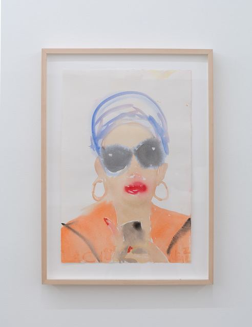 , 'Nina in a Miami Turban #2,' 2018, Nina Johnson