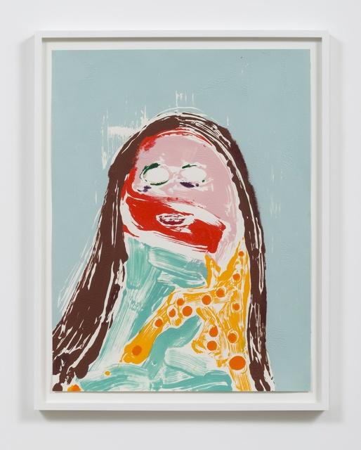 , 'Head #10,' 2016, Rhona Hoffman Gallery