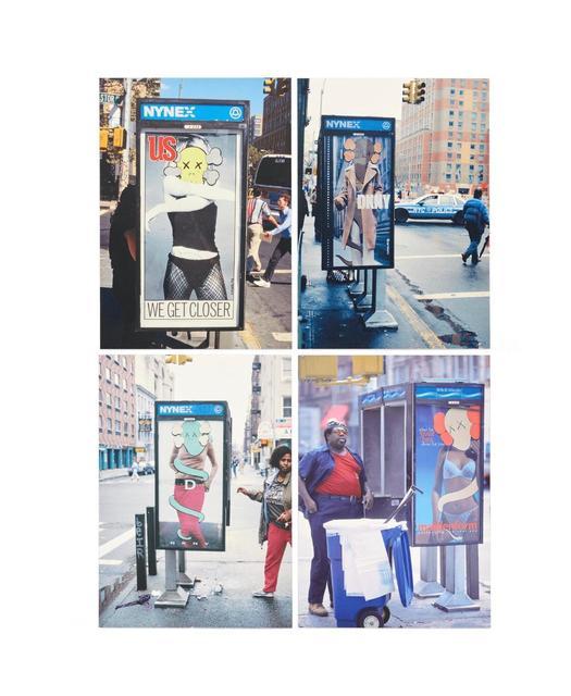 KAWS, 'KAWS x NGV Postcard (Set of 4) (Phone Shelters)', 2019, Curator Style
