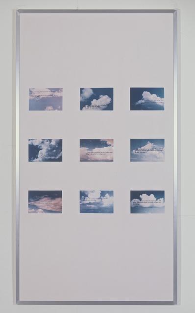 , 'Gang (Clouds),' 1986, Galerie Isabella Czarnowska