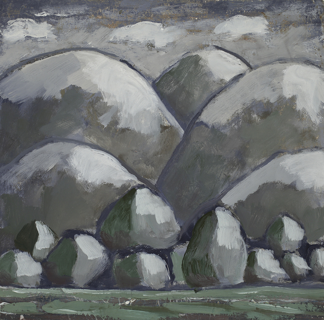 , 'Gray Hills,' 2018, Linda Hodges Gallery