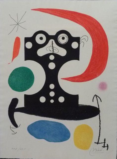 Joan Miró, 'Hommage à Marcel Duchamp ', 1968, Le Coin des Arts