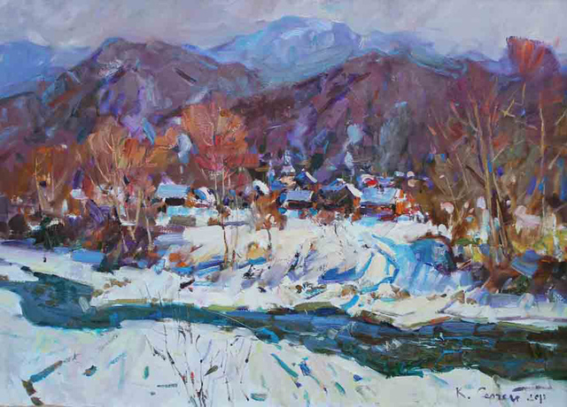 , 'Winter in Carpathia,' , Paul Scott Gallery & galleryrussia.com
