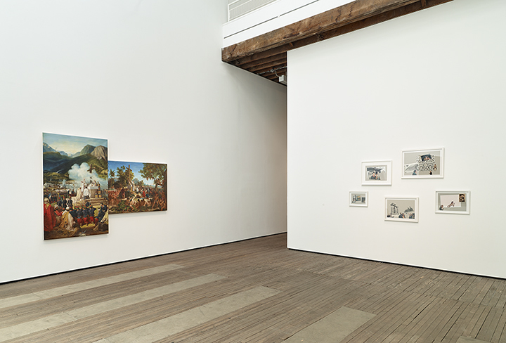 Repossession Installation view Lehmann Maupin, 201 Chrystie Street, New York June 24-August 12, 2016, Photo by Max Yawney, Courtesy the artist and Lehmann Maupin, New York and Hong Kong