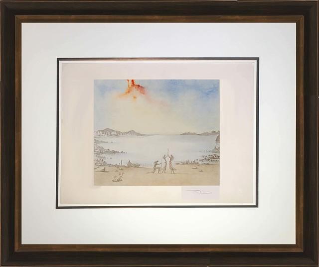 Salvador Dalí, 'Baie de Port Lligat (The Bay of Port Lligat)', Print, Original color lithograph on heavy rag paper, Baterbys