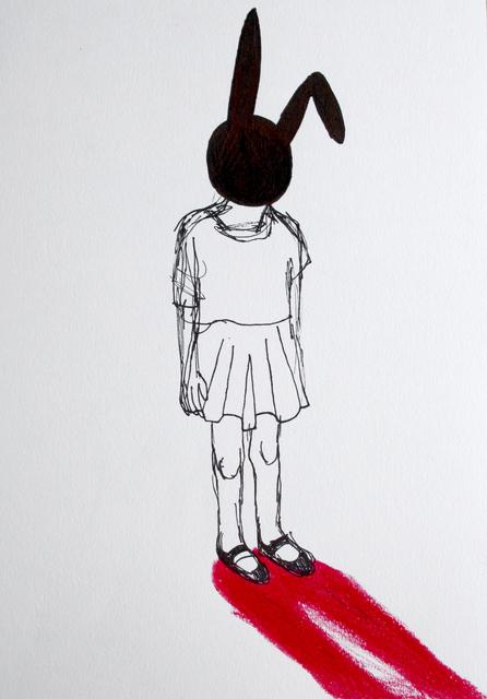 , 'Rabbit mask,' ca. 2014, Galerie Sandhofer