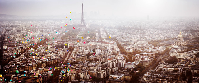 , 'Balloons over Paris,' 2016, CAMERA WORK