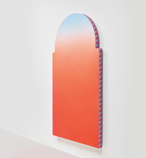 Alex Israel, 'Untitled (flat)', 2014-15., Mixed Media, Acrylic on stucco and ceramic tiles, Phillips