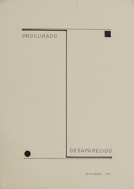 , 'Untitled,' 1976, Baró Galeria