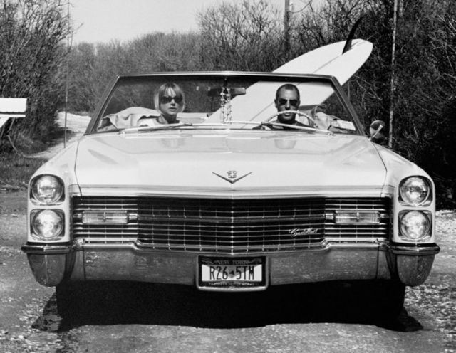 , 'David and Pam in their Caddy, Trailer Park, Montauk, New York,' 2003, Staley-Wise Gallery
