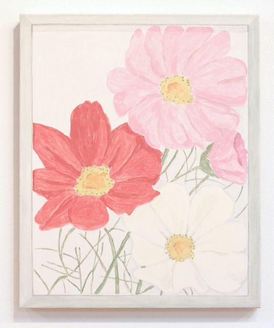 , 'Framed Sketch: Three Flowers,' 2016, Talley Dunn Gallery
