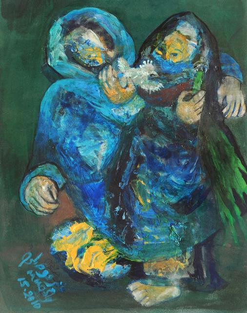 , 'Return from Al Fallujah Market,' 2010, Hafez Gallery