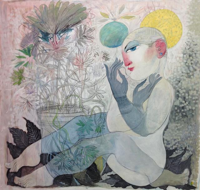 , 'Paradise 1,' 2016, al markhiya gallery