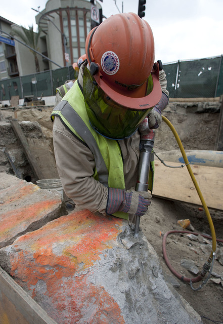 Armando Arorizo, 'Chipping Concrete for Underground', 2016, The Perfect Exposure Gallery