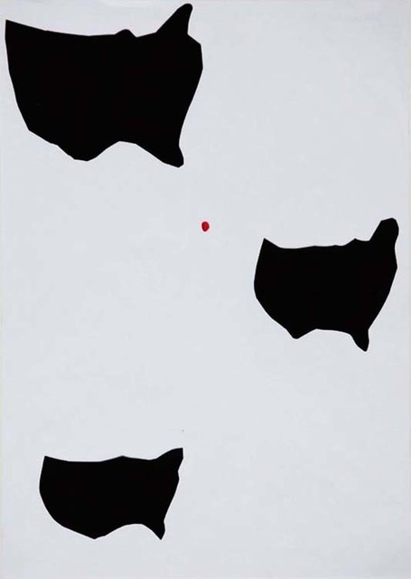 , 'Amerika - roter Punkt (America - red point),' 2009, Aanant & Zoo