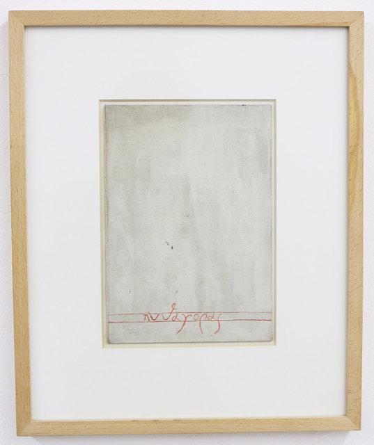 , 'Pytagoras (Greek letters), m. 5,' 1951-1956, Galerie Martin Janda