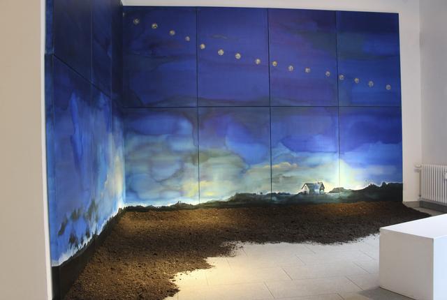, 'Profumi di blu,' 2018, Galleria Punto Sull'Arte