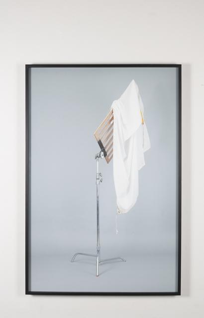 ", '""Untitled (c-stand, muslin 4x4, bandera 4x4)"",' 2015, Páramo"