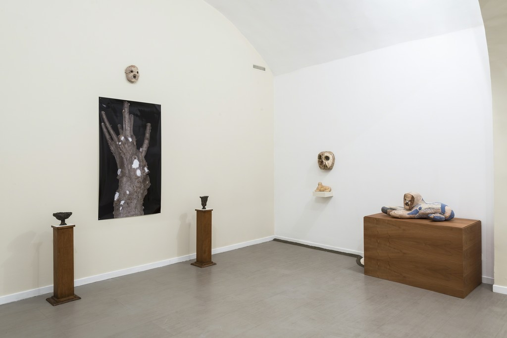 Evgeny Antufiev, Fusion and absorption, installation view at z2o Sara Zanin Gallery, Rome, room 3