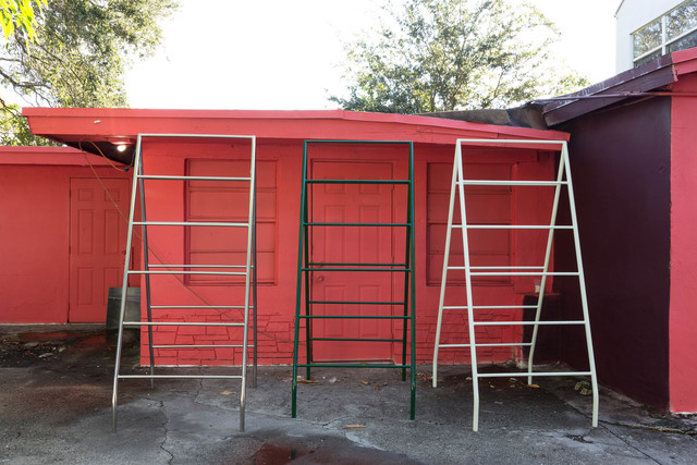 , 'Ladder,' 2015, Nina Johnson