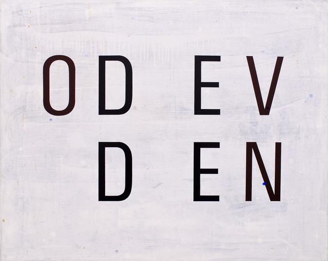 Enn Erisalu, 'Odd Even', 1991, Gallery Jones
