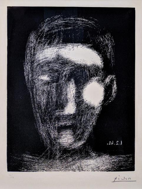 Pablo Picasso, 'TETE DE GARCON (BLOCH 1025)', 1962, Print, LINOCUT, Gallery Art