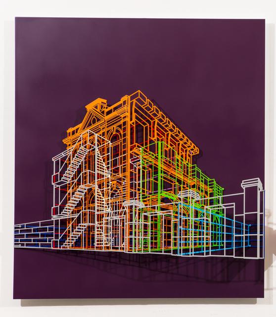 , 'Ambiguous wall-Facade#2 04,' 2015, Pyo Gallery