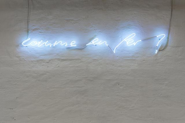 , 'Comme en fer,' 2001-2008, Daniel Marzona