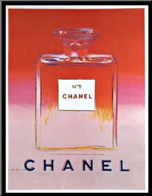 Andy Warhol, 'Chanel No. 5 (Pink)', 1997, Print, Offset lithograph on thin linen canvas backing. unframed., Alpha 137 Gallery Gallery Auction