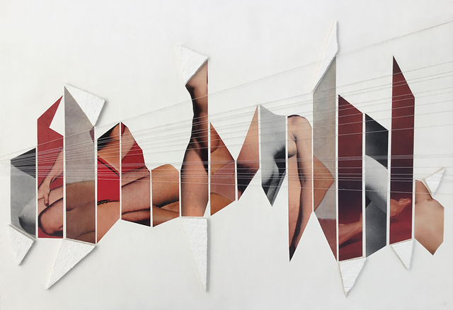 , 'Collage 4,' 2012, Galerie Les filles du calvaire