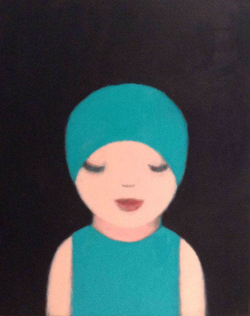 , 'Turqouoise Swimmer,' 2015, Pg Art Gallery
