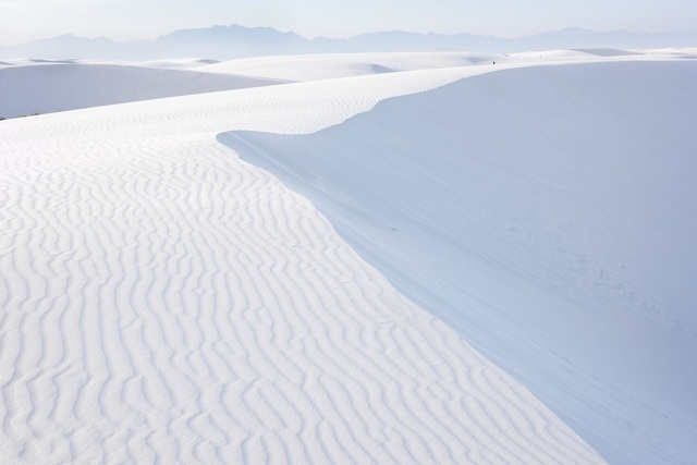 , 'Pastel Dunes and Mountains, Spring, White Sands National Monument, New Mexico,' ca. 2016, Afterimage Gallery