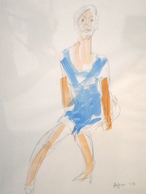 Christopher Polgar, 'Seated Figure', 2017, Fountain House Gallery