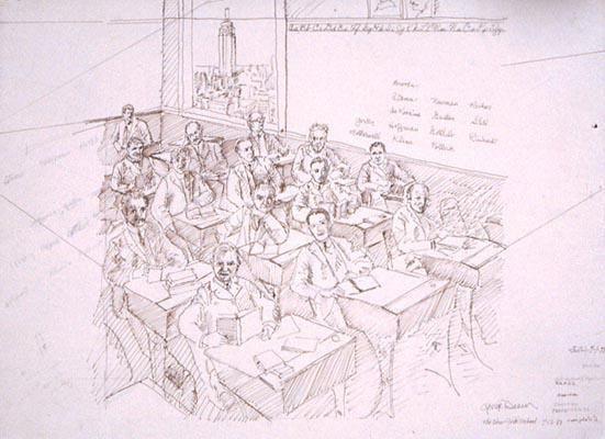 , 'The New York School Study,' 1988, Eckert Fine Art