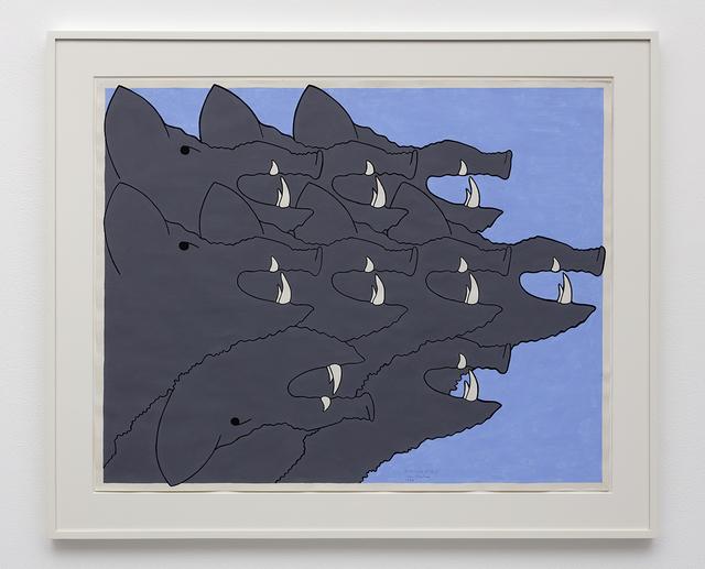 , 'Hunting Dogs,' 1984, David Kordansky Gallery