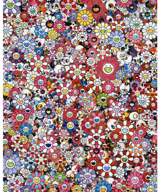 Takashi Murakami, 'Circus: Embrace Peace and Darkness within Thy Heart', 2016, Print, Offset lithograph, EHC Fine Art