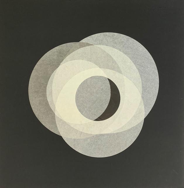Margaret Manchee, 'Oscillation', 2019, Print, Chin colle collage with washi paper, Firestation Print Studio