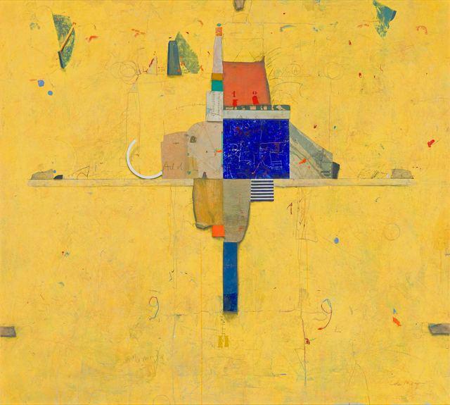 Cole Morgan, 'Yellow H', 1993, Larsen Gallery