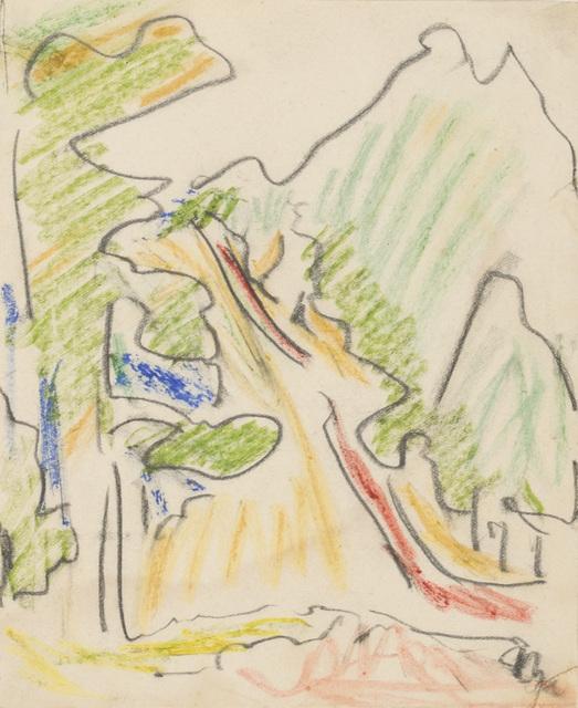 , 'Sertig Valley, Davos,' ca. 1936, Galerie St. Etienne