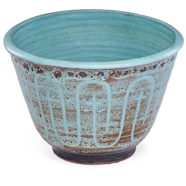 Maija Grotell, 'Bowl With Abstract Design, Bloomfield Hills, MI', Rago/Wright
