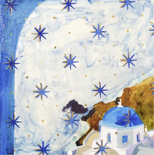 , 'CERULEAN STARS ,' ca. 2018, MM Fine Art