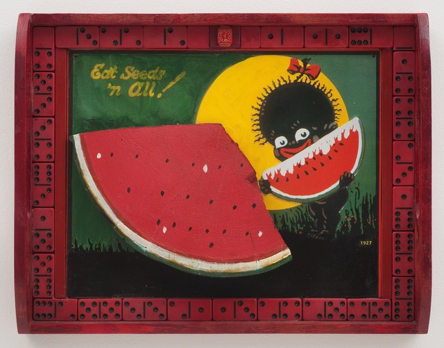 , 'Eat Seeds 'n All!,' 2011, Roberts & Tilton