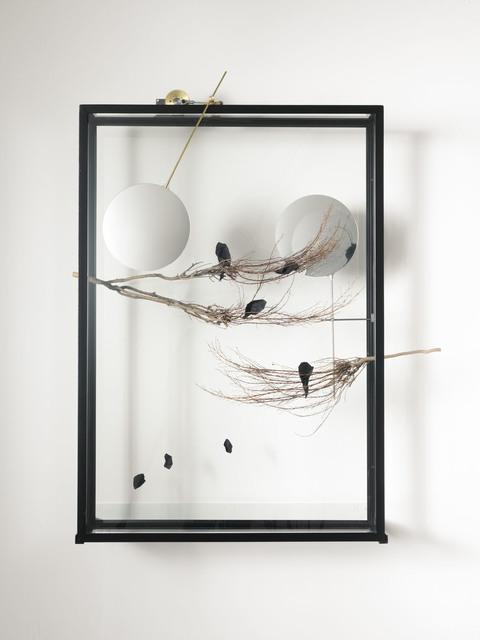 , 'Passing the Moon of Evidence II,' 2017, Studio Trisorio