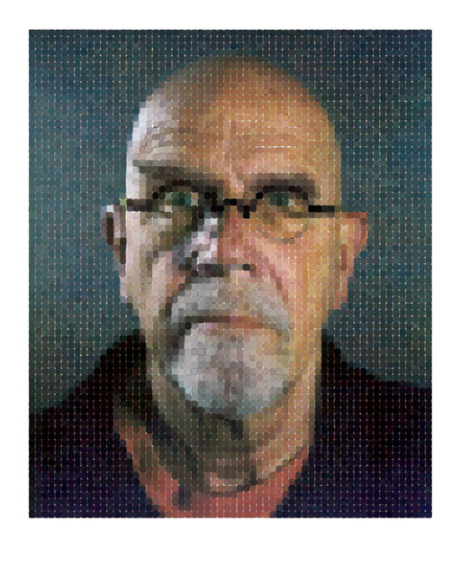 Chuck Close, 'Self-Portrait (Pink T-Shirt),' 2013, Guild Hall