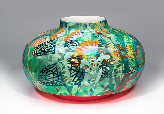 John Newdigate, 'Mantis and Nymph III', 2019-2020, Design/Decorative Art, Hand Painted, Glazed Porcelain, EBONY/CURATED