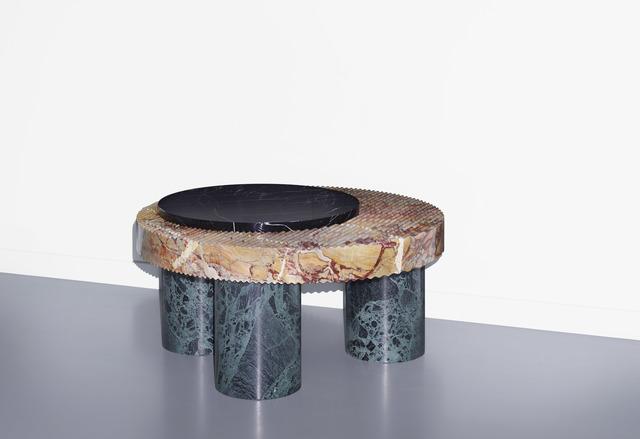 , 'Lines & Waves, table 3,' 2014, Victor Hunt Designart Dealer