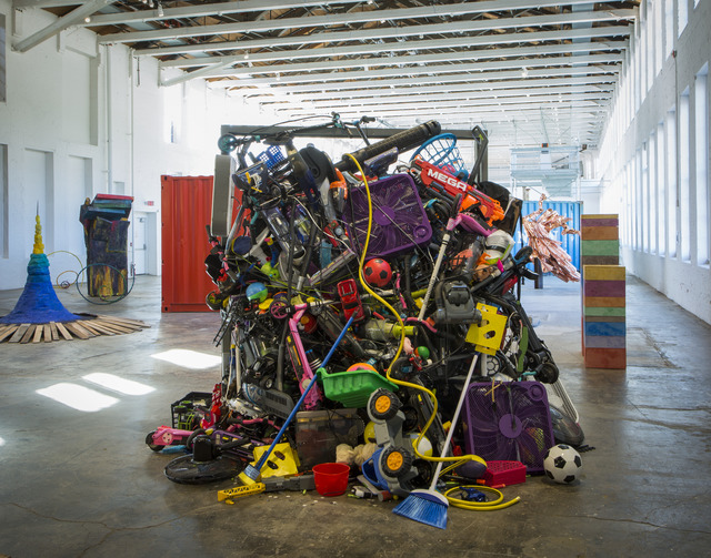, 'Avalanche of Consumer Goods,' 2017, MASS MoCA