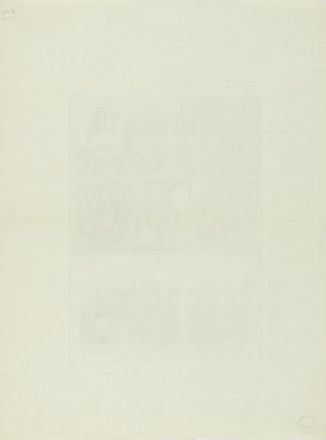 Pablo Picasso, 'Feuille d'études techniques. Neuf têtes (B. 285; Ba. 438)', Print, Etching, Sotheby's