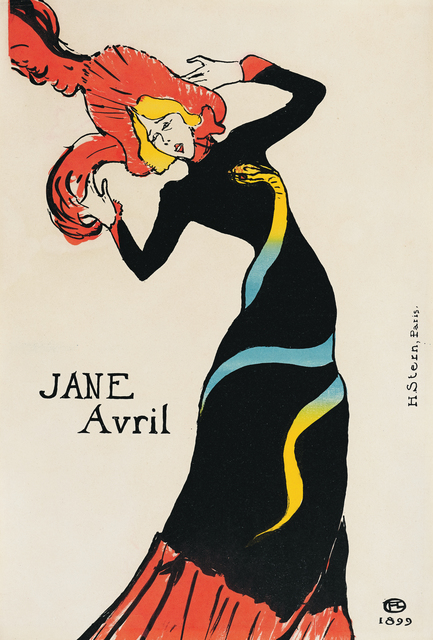 , 'Jane Avril,' 1899, Montreal Museum of Fine Arts