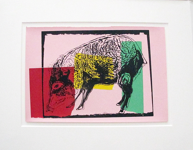 , 'Vanishing Animals -- Giant Chaco Peccary (1),' 1986, Hamilton-Selway Fine Art